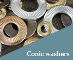 Conic washers